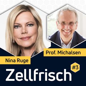 Zellfrisch Podcast - Nina Ruge im Gespräch mit Fastenexperte Professor Andreas Michalsen