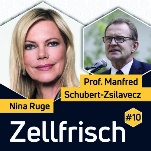 Nina Ruge im Gespräch mit Manfred Schubert-Zsilavecz